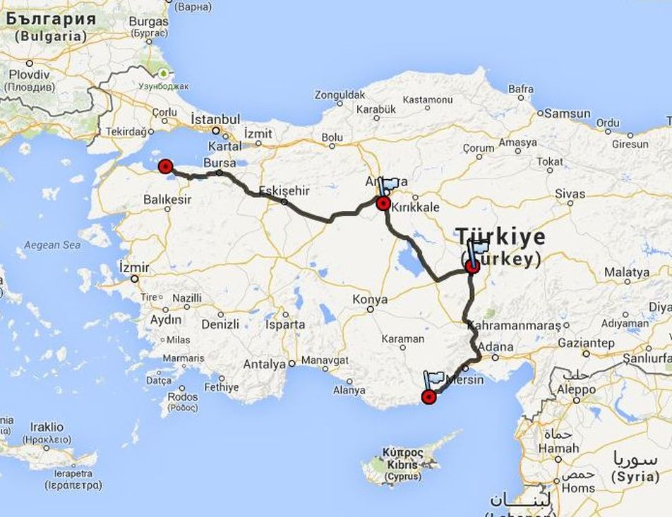 Tyrkiet 2013 Del 4 Oldcampisten